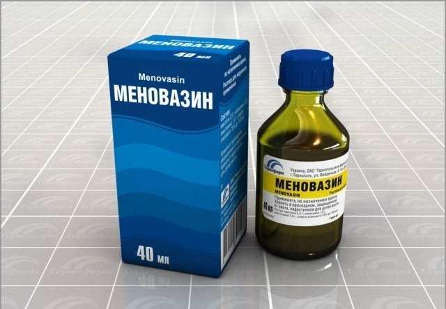 Меновазин с упаковкой