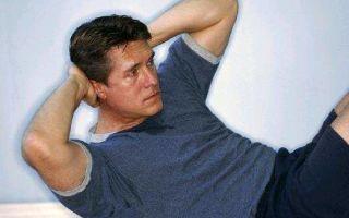 Упражнения при геморрое у мужчин: как заниматься спортом